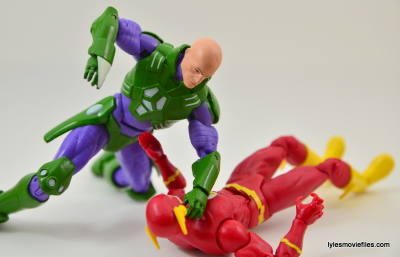 DC Collectibles Icons Lex Luthor review - vs Flash