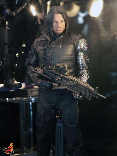 Captain America Civil War Bucky figure Hot Toys