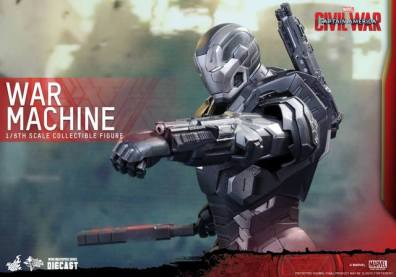 Captain America Civil War - War Machine - lining up