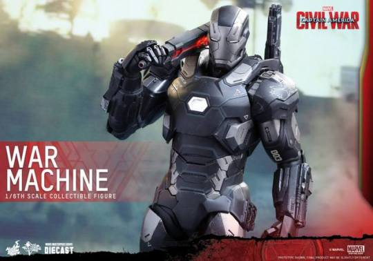 Captain America Civil War - War Machine -wide shot
