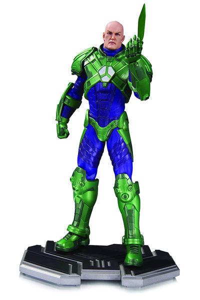 dc collectibles lex luthor statue