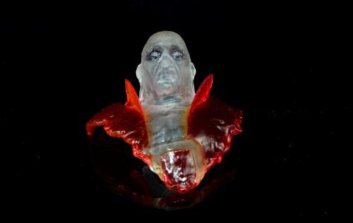DC Icons Deadman figure review - Deadman mask