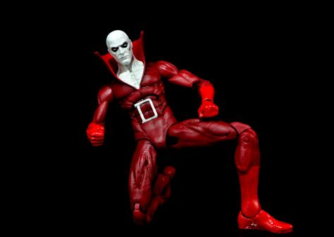 DC Icons Deadman figure review - on one knee