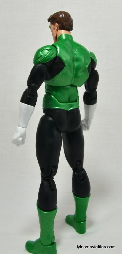 DC Icons Green Lantern figure review -left rear