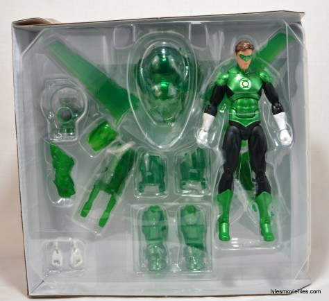 DC Icons Green Lantern figure review -outer tray 1
