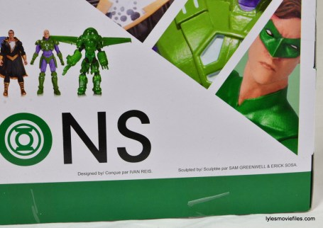 DC Icons Green Lantern figure review -sculptor info