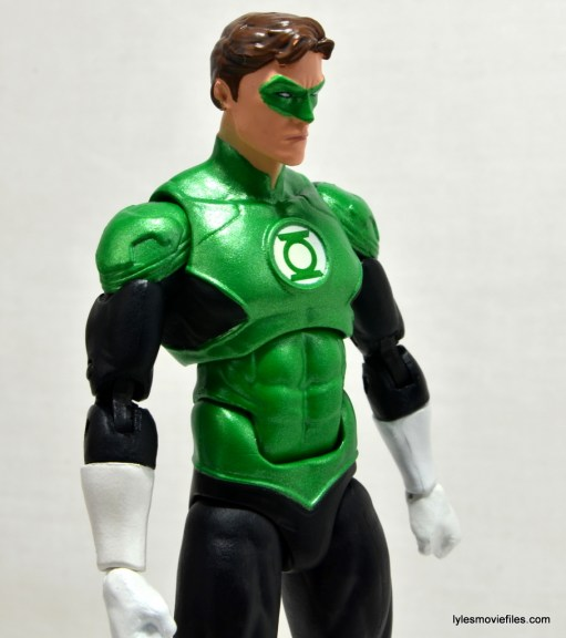 DC Icons Green Lantern figure review -side profile