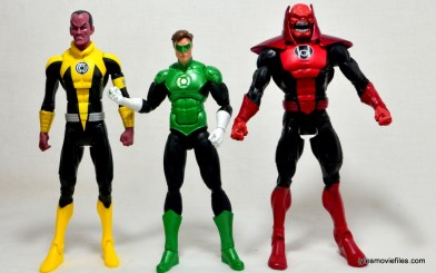 DC Icons Green Lantern figure review -with DC Classics Sinestro and Atrocitus