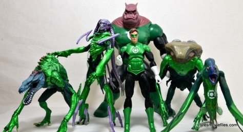 DC Icons Green Lantern figure review -with Green Lantern Corps
