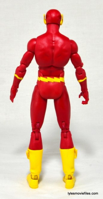DC Icons The Flash figure review -rear