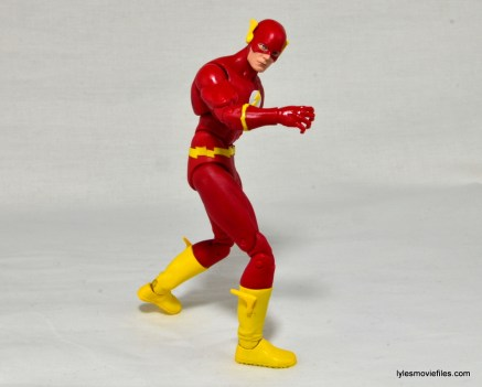 DC Icons The Flash figure review -turning waist