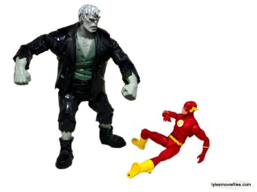 DC Icons The Flash figure review - vs Grundy- white