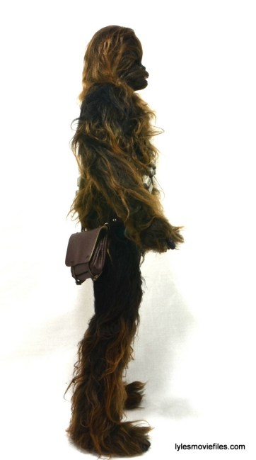 Hot Toys Han Solo and Chewbacca review -Chewbacca right side