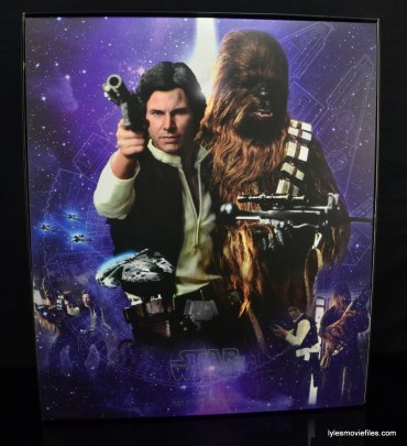 Hot Toys Han Solo and Chewbacca review -inner artwork package