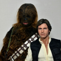 Hot Toys Han Solo and Chewbacca review -main profile pic