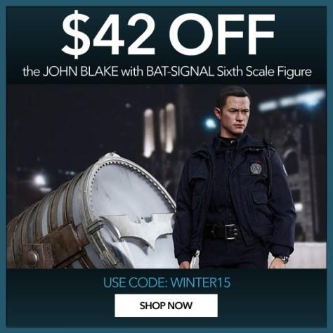 john blake with bat signal