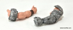 Machine Man Marvel Legends figure review - BAF Thor arms
