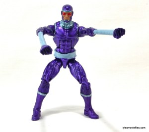 Machine Man Marvel Legends figure review - expandable arms
