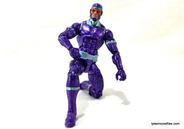 Machine Man Marvel Legends figure review - kneeling