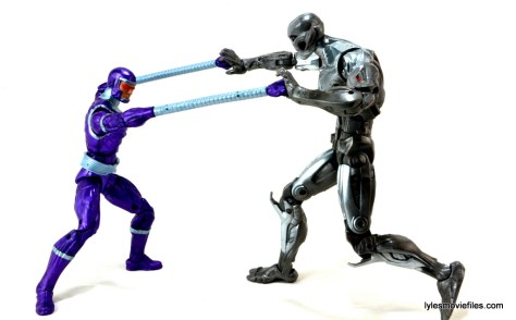 Machine Man Marvel Legends figure review - vs Ultron