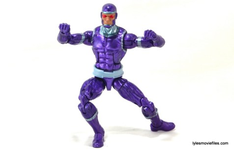 Machine Man Marvel Legends figure review - wide stance