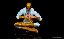Marvel Legends Iron Fist figure review -meditating