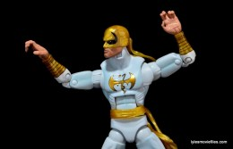 Marvel Legends Iron Fist figure review -monkey paw