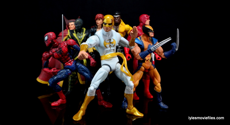 Marvel Legends Iron Fist figure review - New Avengers