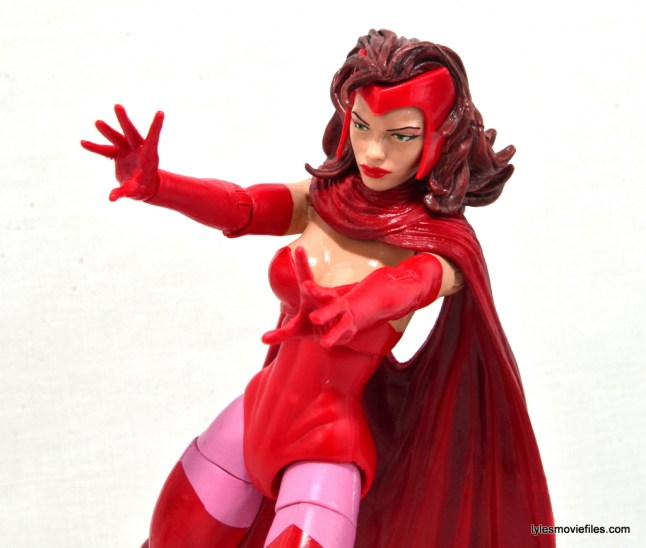Marvel Legends Scarlet Witch figure review - main pic