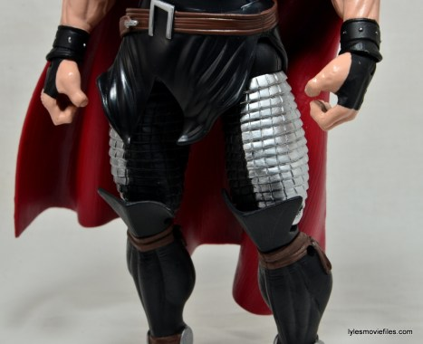 Marvel Legends Thor figure review -leg armor