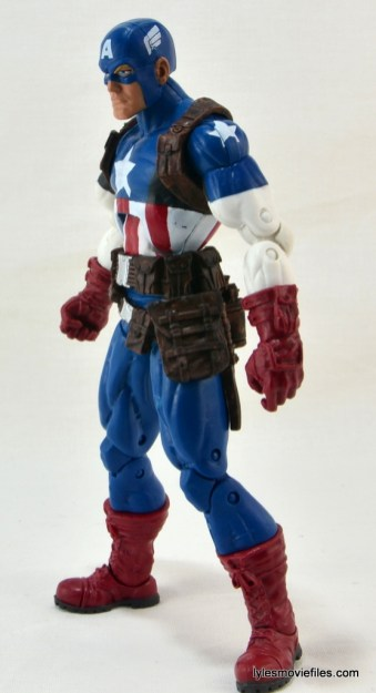 Marvel Legends three-pack Ms. Marvel, Captain America and Radioactive Man -Cap left side