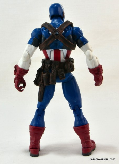 Marvel Legends three-pack Ms. Marvel, Captain America and Radioactive Man -Cap rear