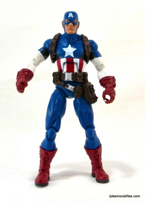 Marvel Legends three-pack Ms. Marvel, Captain America and Radioactive Man -Cap straight ahead