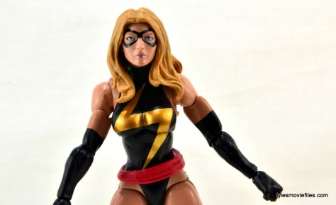 Marvel Legends three-pack Ms. Marvel, Captain America and Radioactive Man -Ms. Marvel wide