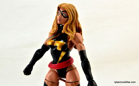 Marvel Legends three-pack Ms. Marvel, Captain America and Radioactive Man -portrait Ms. Marvel