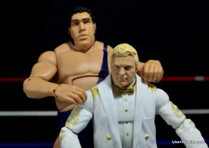 Mattel WWE Heenan Family set action figures review -Andre the Giant and Bobby the Brain