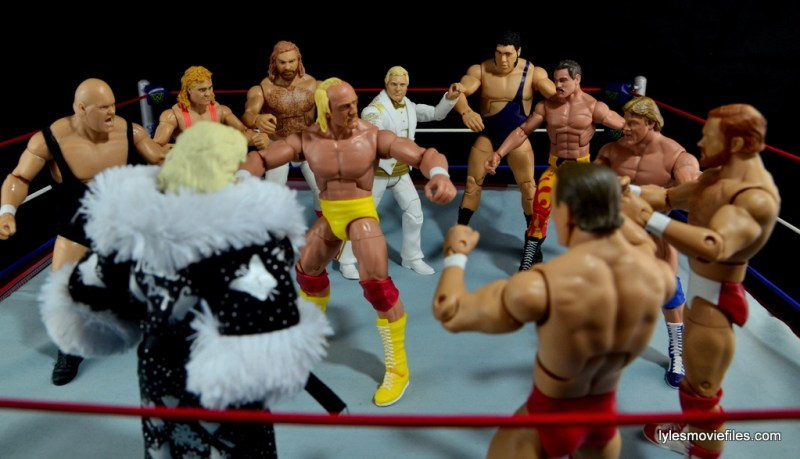 Mattel WWE Heenan Family set action figures review -Heenan's revenge