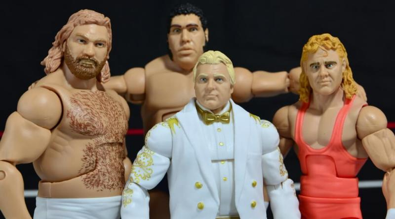 Mattel WWE Heenan Family set action figures review -main pic