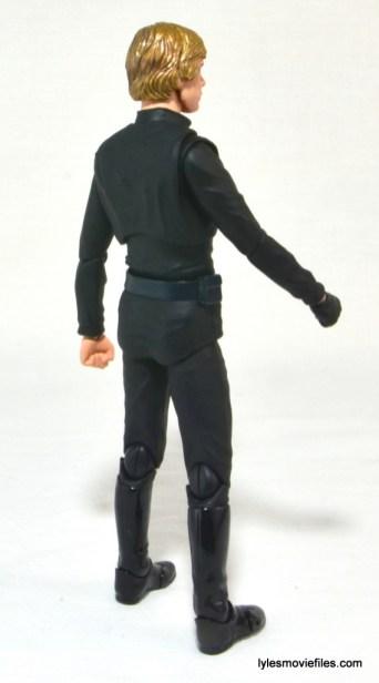 SH Figuarts Luke Skywalker figure review - right rear