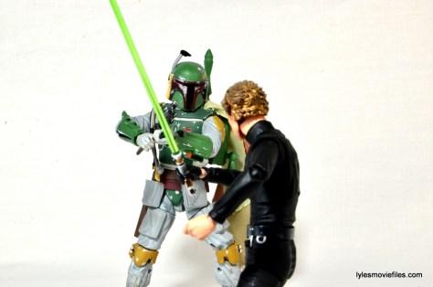SH Figuarts Luke Skywalker figure review - vs Boba Fett