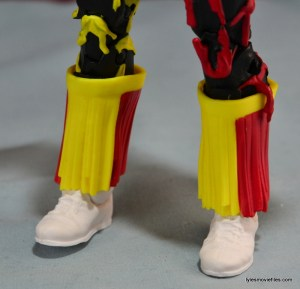 WWE Elite 38 Macho Man Randy Savage review -boot tassles