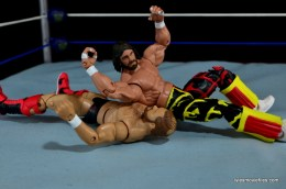 WWE Elite 38 Macho Man Randy Savage review -elbow drop to Arn Anderson