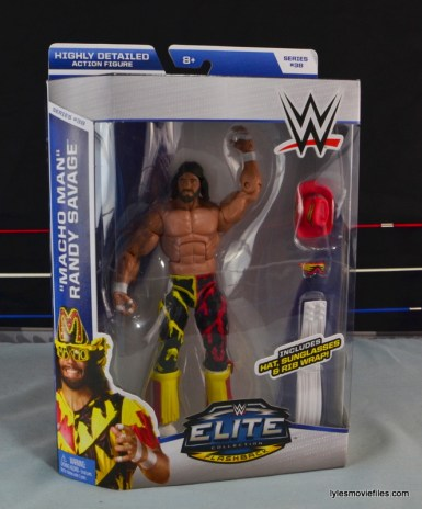 WWE Elite 38 Macho Man Randy Savage review - front package