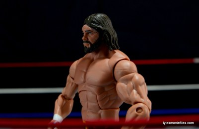 WWE Elite 38 Macho Man Randy Savage review -left profile