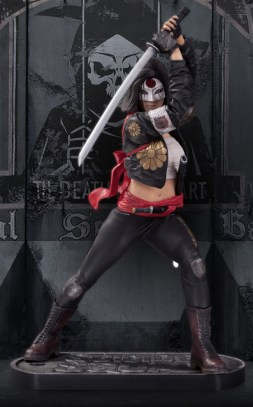 DC Suicide Squad statue - Katana