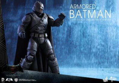 Hot Toys Batman v Superman Armored Batman -wide shot