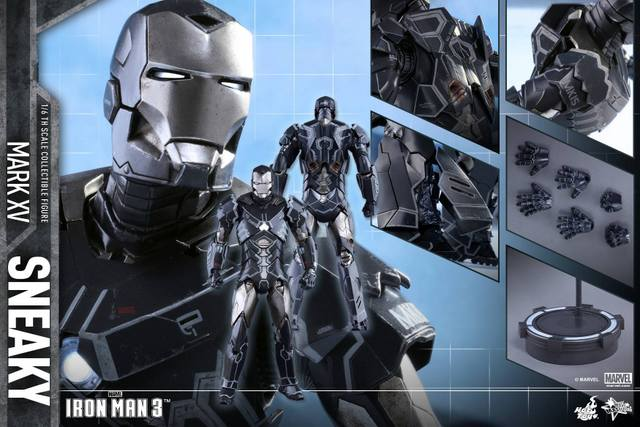Hot Toys Iron Man Sneaky armor -collage