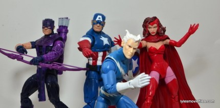Marvel Legends Captain America review -Cap's Kookey Quartet