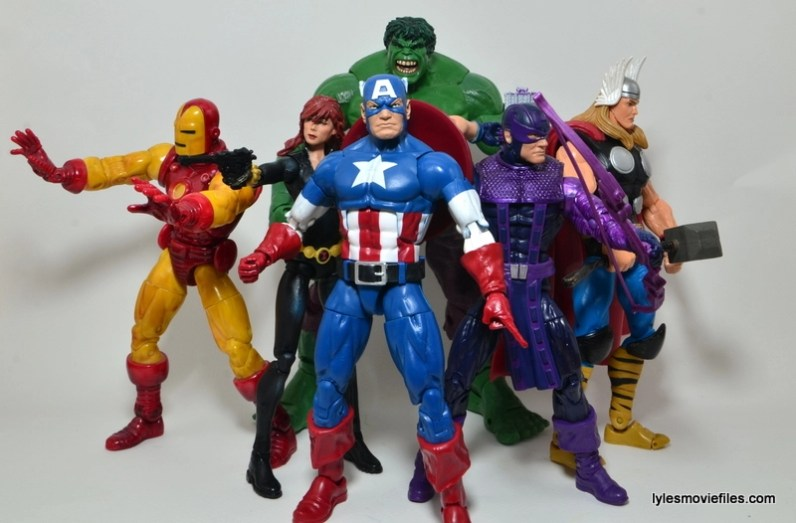 Marvel Legends Captain America review -Marvel Cinematic Universe Avengers