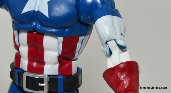 Marvel Legends Captain America review -white fading
